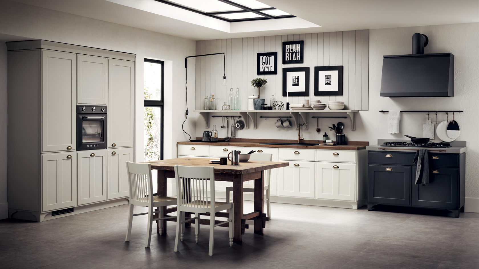 Antique Bright Kitchens By Scavolini