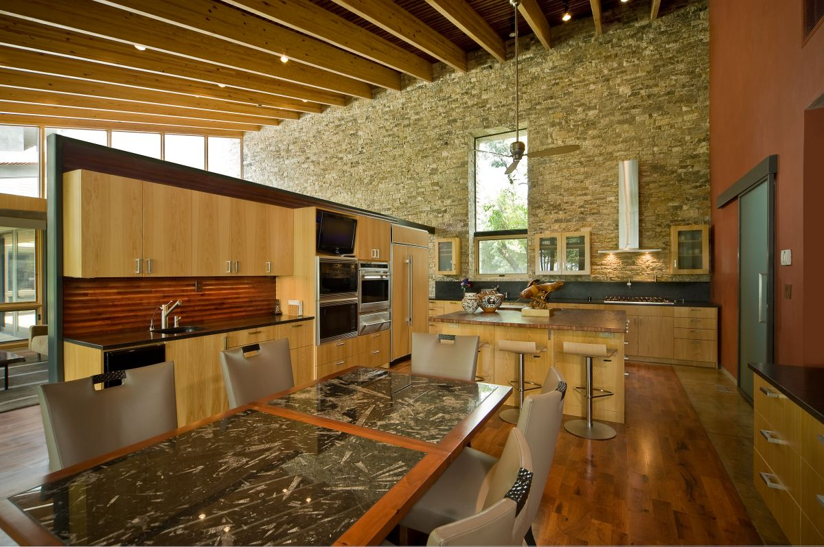 Natural Classic Stone Kitchen Floor
