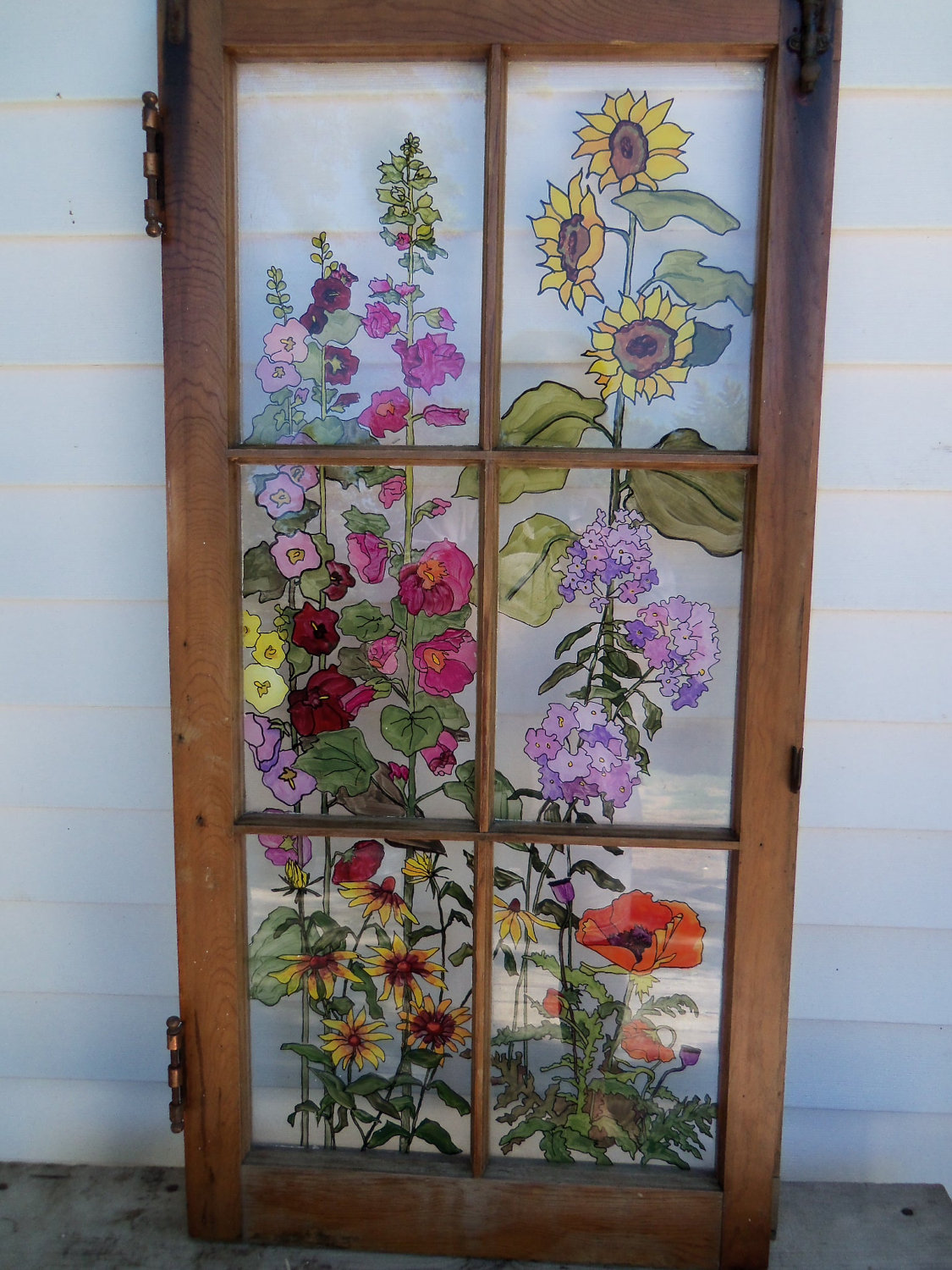 Antique Original Art Studio Windows