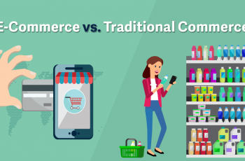 E-commerce vs traditional commerce