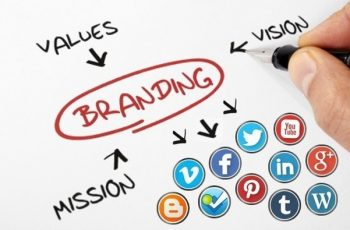 brand on social networks