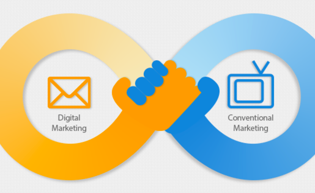 Digital Marketing And Conventional Marketing, Partners Or Competition.