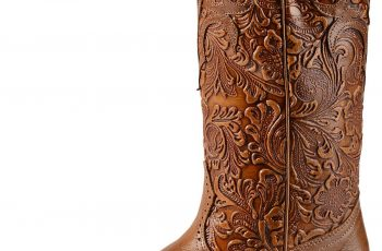 Tooled Leather Boots