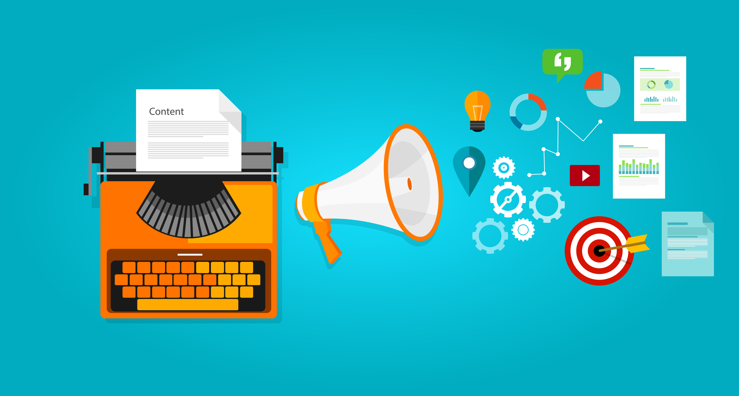 7 steps to marketing content