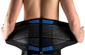 Lower Back Support Belt for Weightlifting