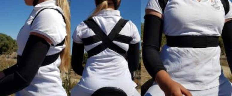 Shoulders Back Posture Support Horse Riding