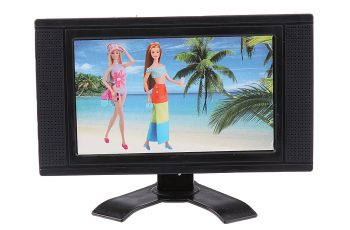 8 inch flat screen tv