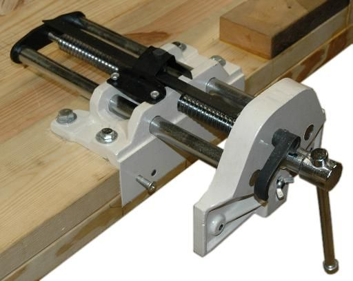 Bench Vice Wood
