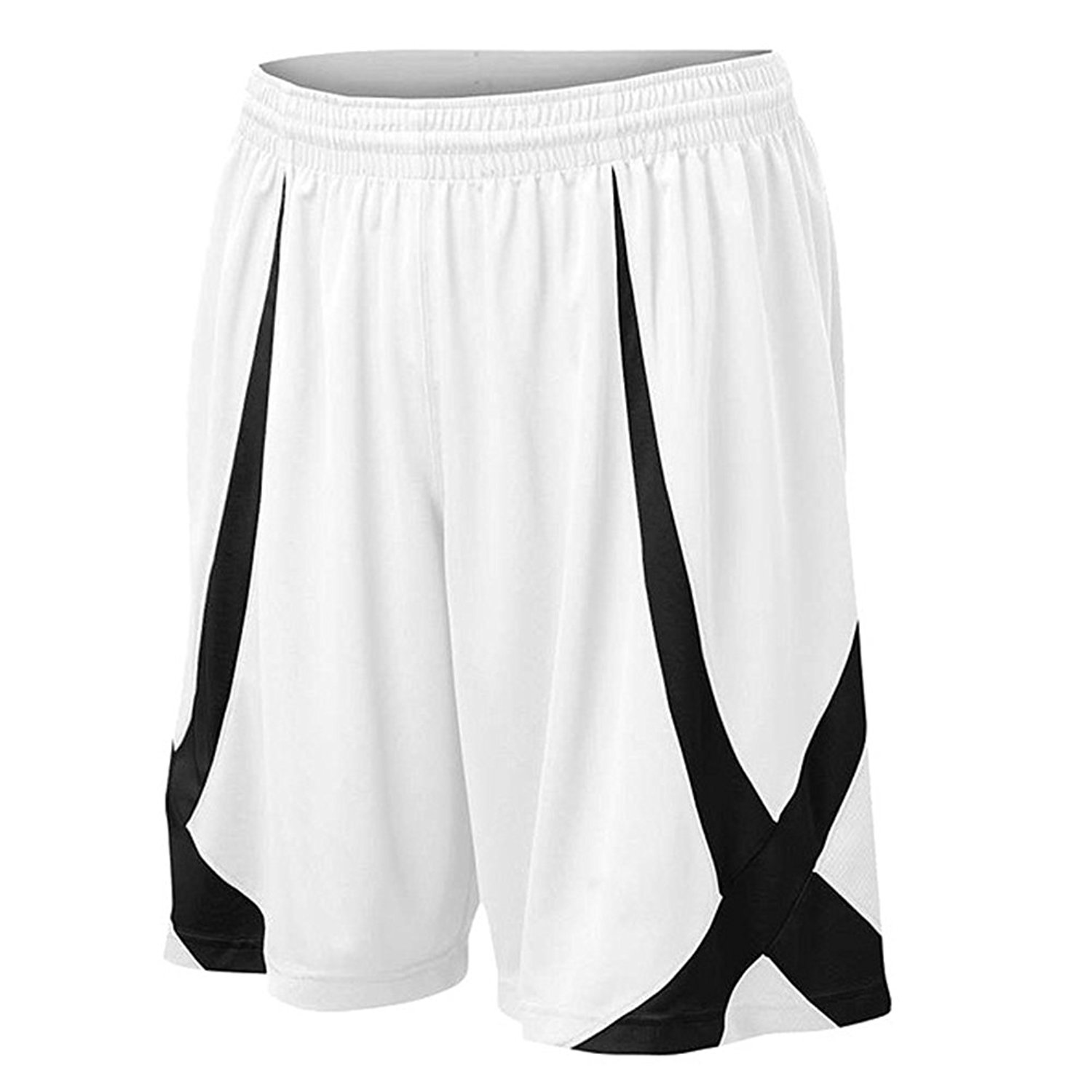 Black Basketball Shorts with Pockets