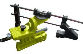 chainsaw sharpener bar mount