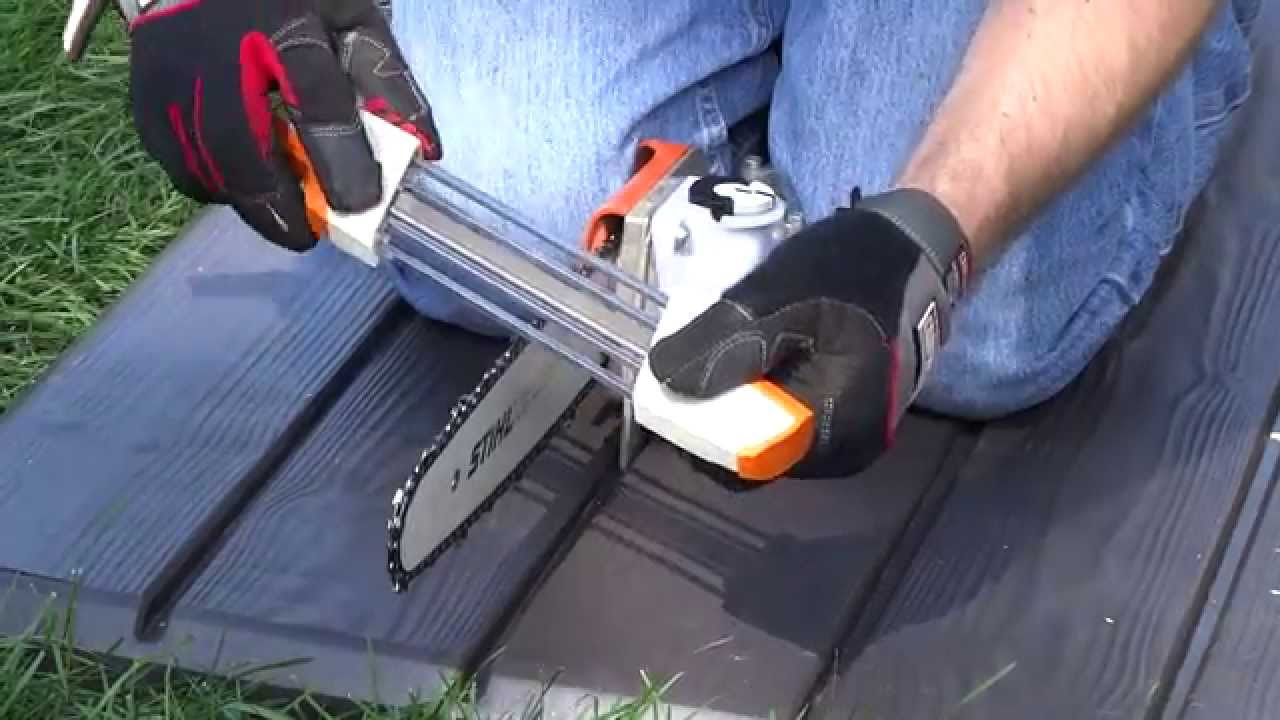 Chainsaw Sharpener Guide Stihl
