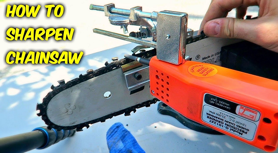 Chainsaw Sharpener Push