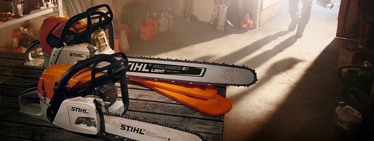 Chainsaws by Stihl