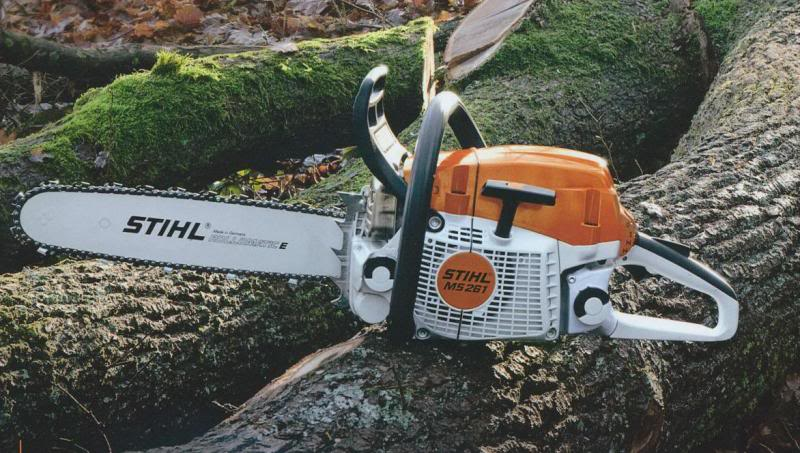 Chainsaws Stihl MS 261