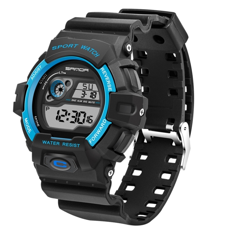 Digital Watch with Stopwatch Function
