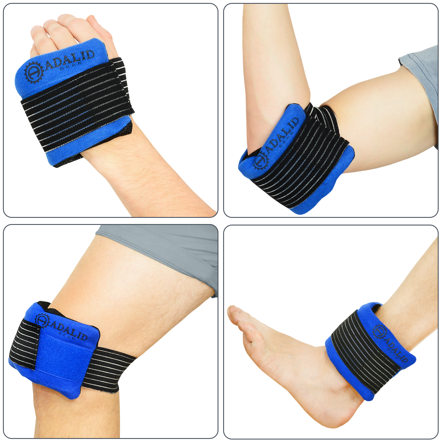 Top 10 Best Gel Ice Bags for Injuries Comparison