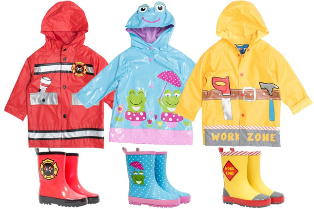 Kids Rain Coats and Rain Boots