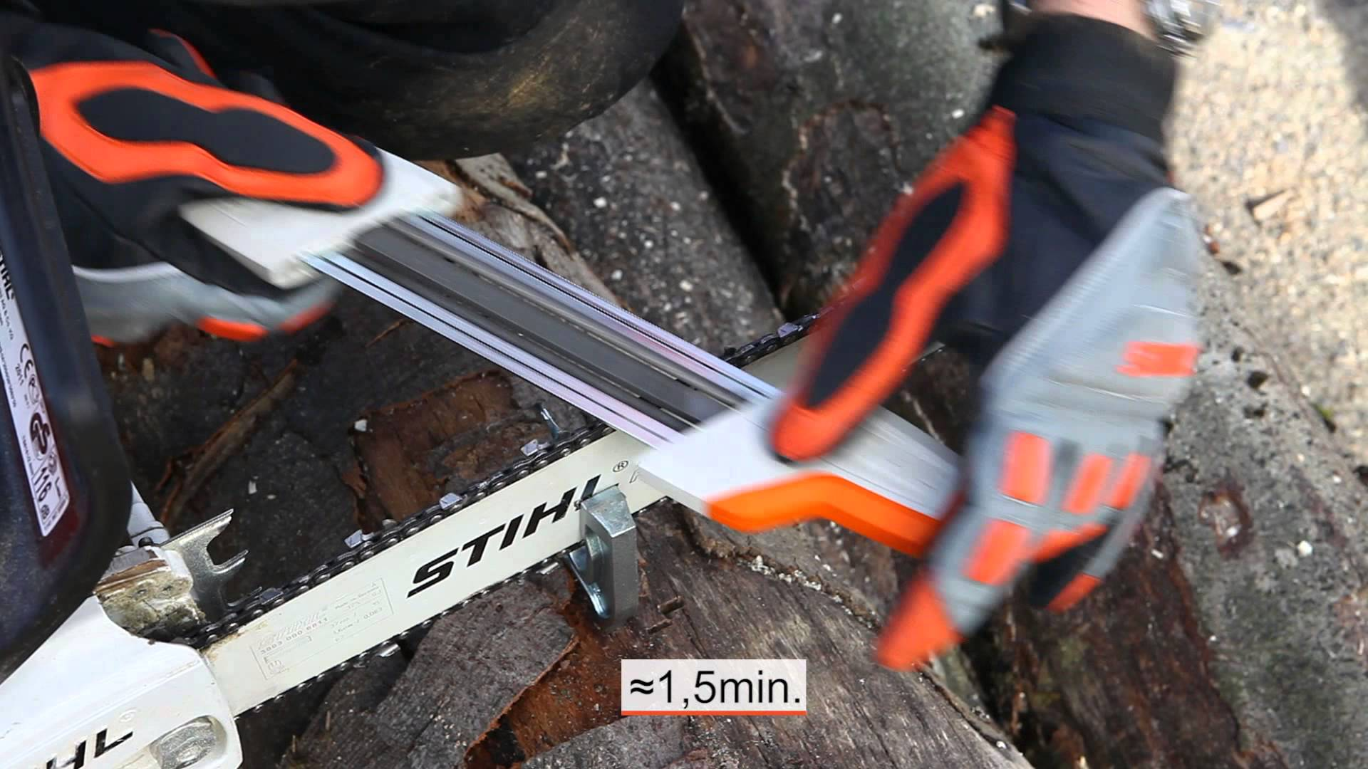 New Stihl Chainsaw Sharpener