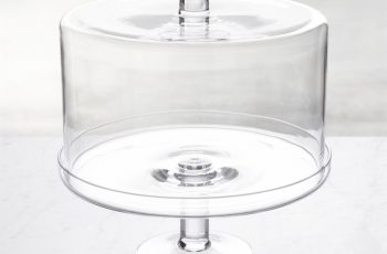 tall cake dome glass