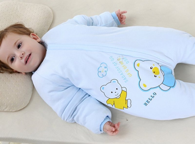 Toddler Wearable Blanket with Sleeves