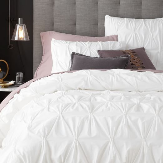 White Cotton Duvet Set