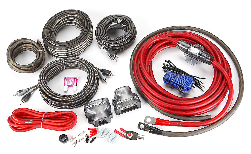 AMP Wiring Kit 4 Gauge