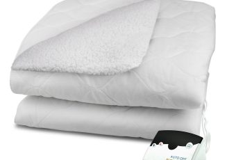 biddeford heated sherpa mattress pad