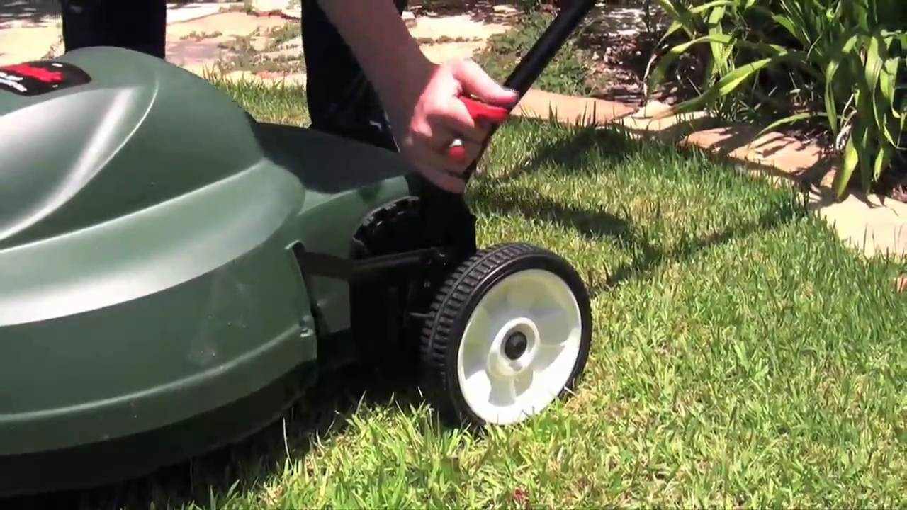 Black and Decker Corded Lawn Mower