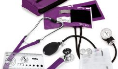 blood pressure and stethoscope kit