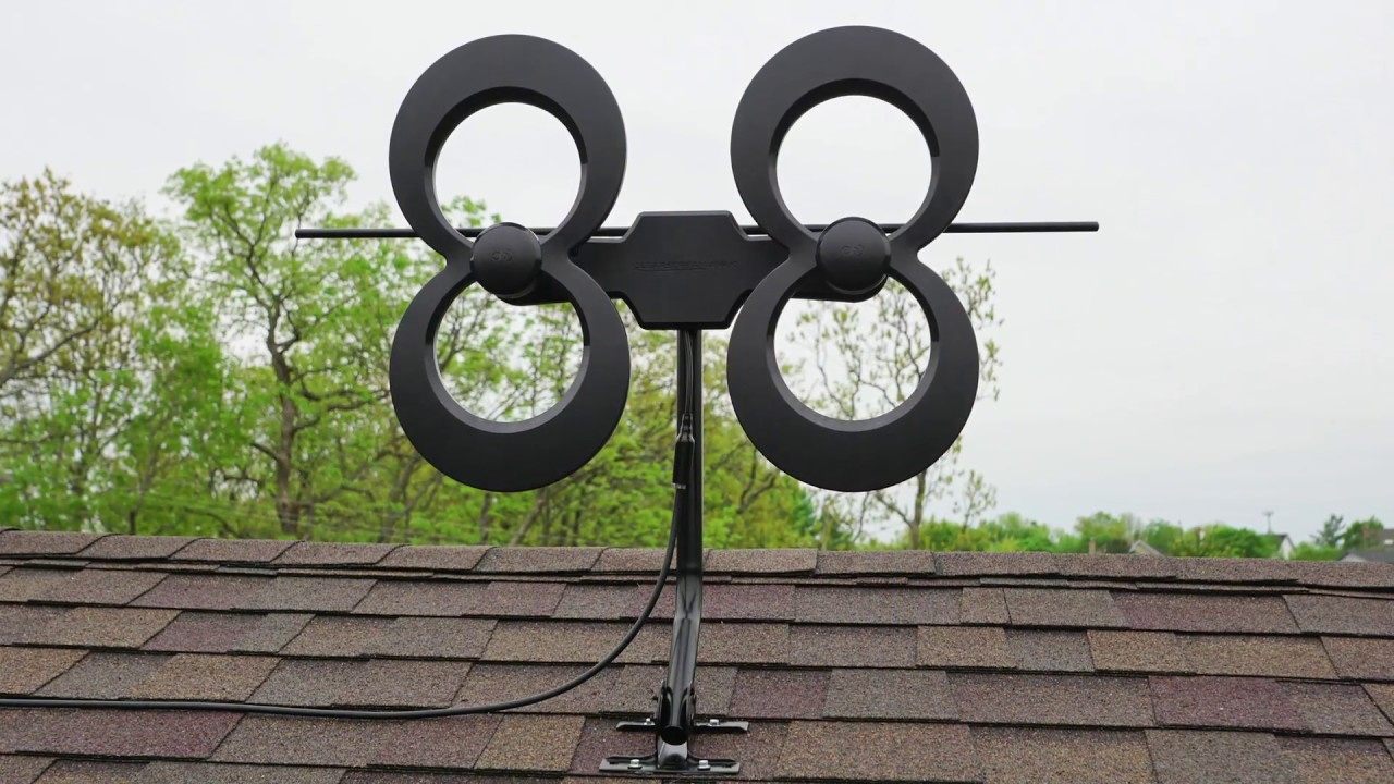 Clearstream 4 Indoor Outdoor HDTV Antenna