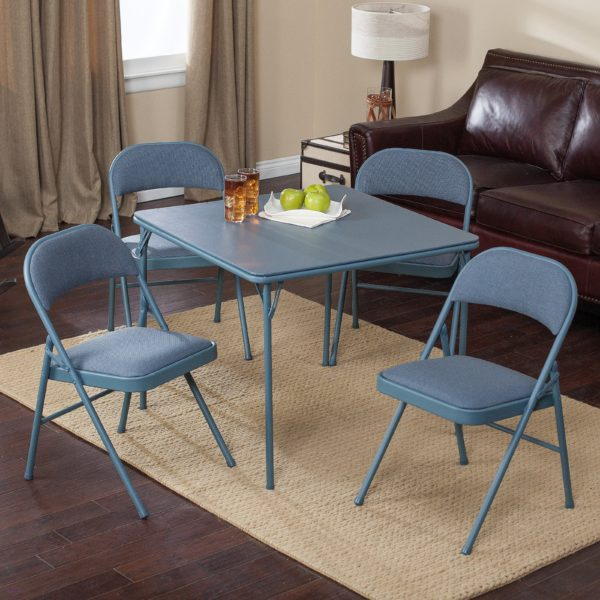 Cosco 5-Piece Card Table Set