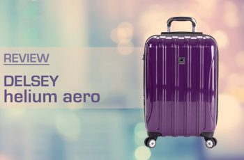 delsey helium aero expandable luggage trolley