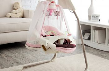 fisher price butterfly cradle swing
