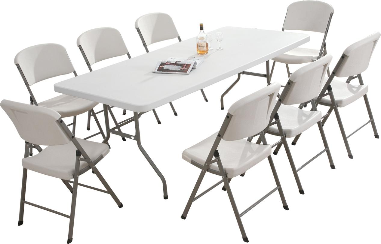 Foldable Chairs and Table Set