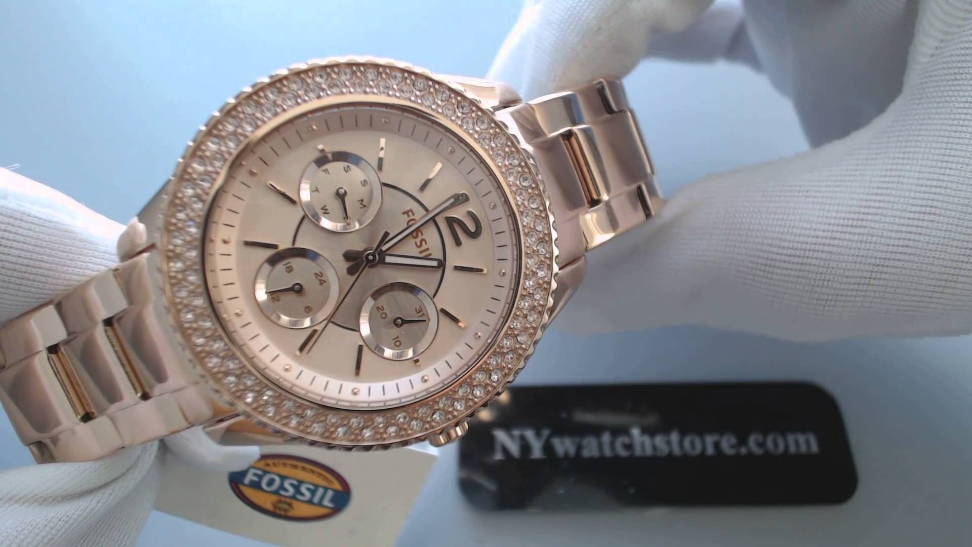 Fossil Rose Gold Watch Womens