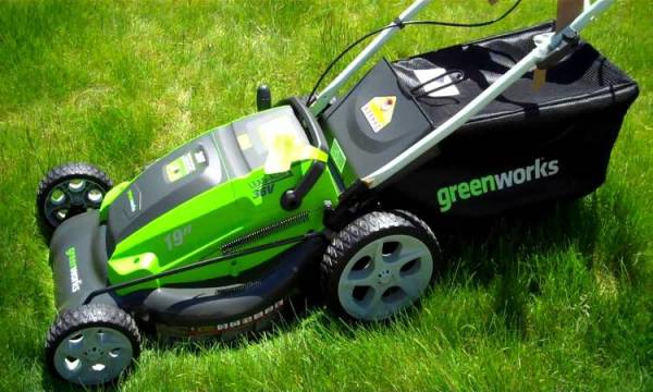 Greenworks Corded 12 AMP 20-Inch Lawn Mower