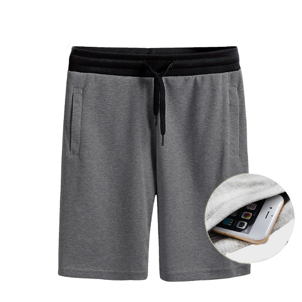 Gym Shorts with Zip Pockets