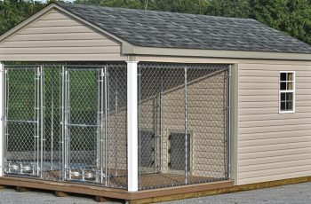 large outdoor dog kennels for sale