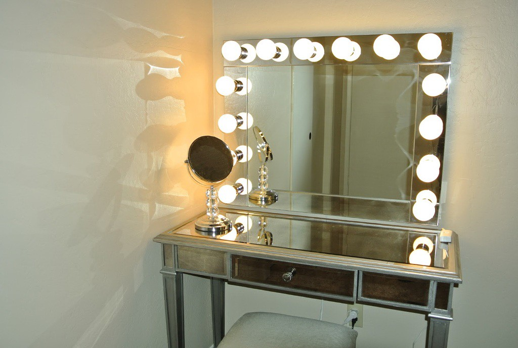 Make Vanity Mirror with Lights