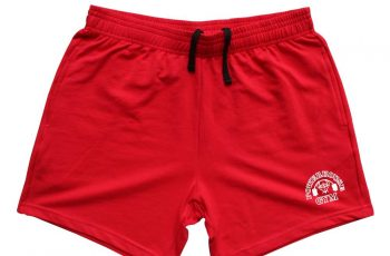 mens cotton gym shorts 5 inch inseam