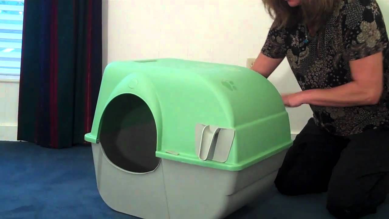 Roll and Clean Litter Box