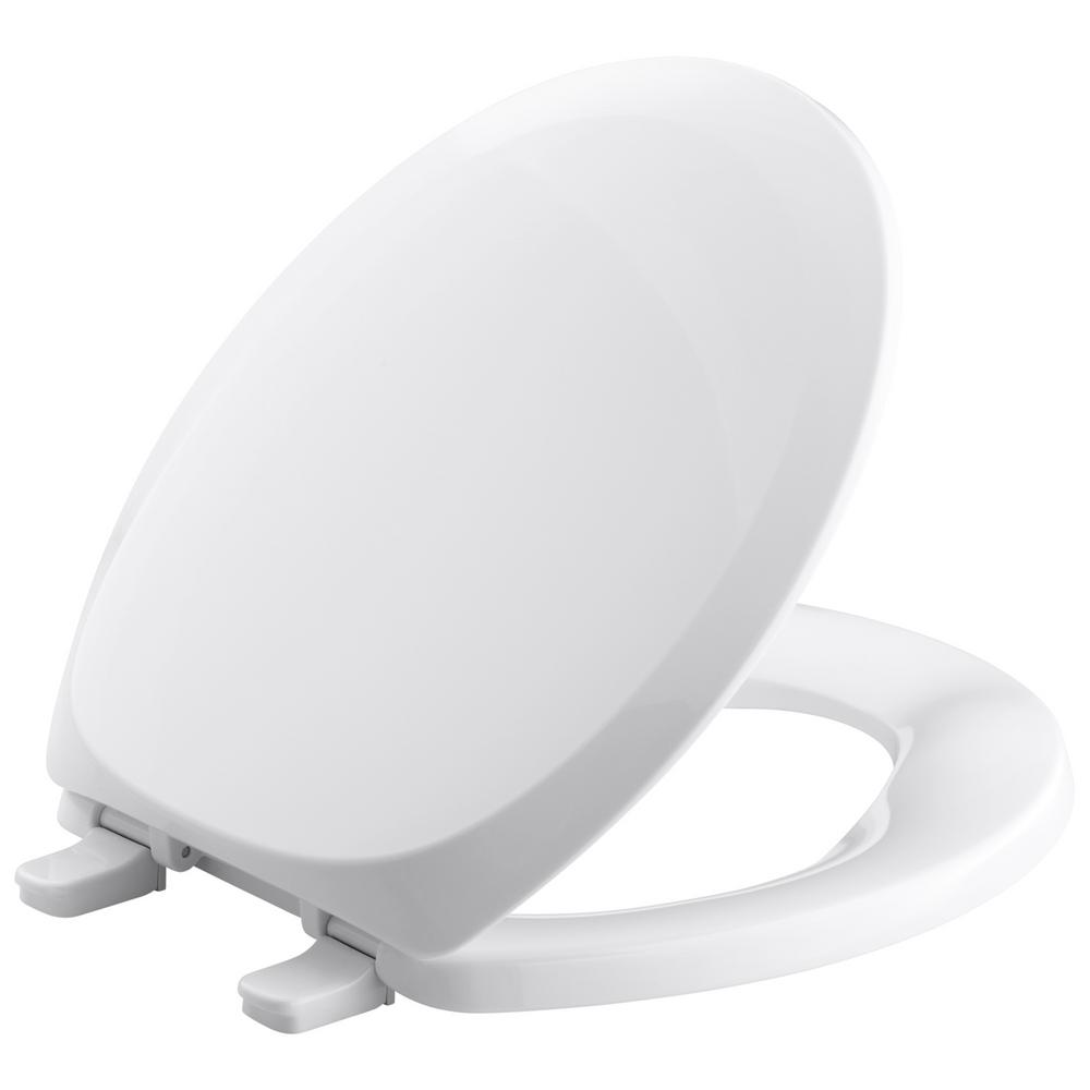 Round or Elongated Toilet Seat