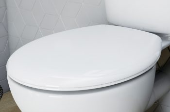 round toilet seat with large opening