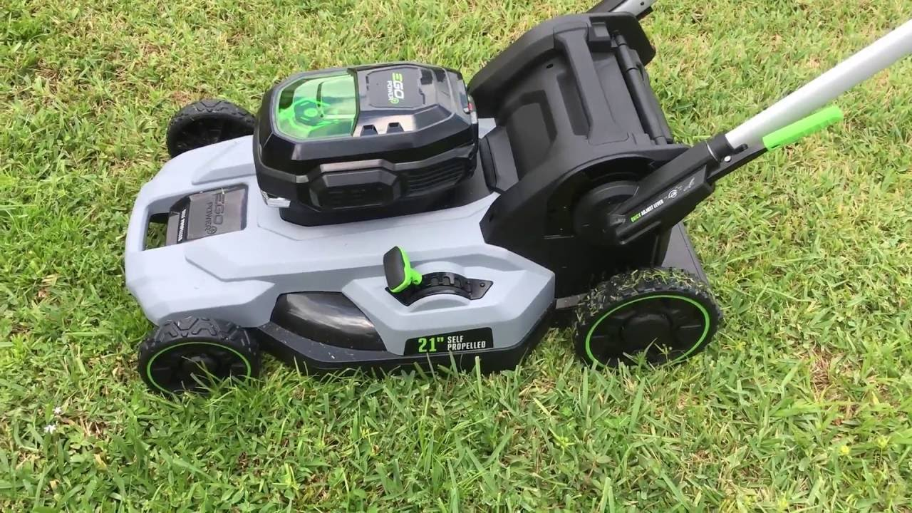 Self Propelled Electric Lawn Mowers