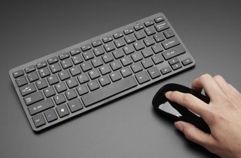 small wireless keyboard and mouse