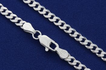 types of sterling silver chains