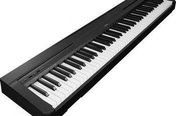 yamaha p-45 88-key weighted action digital piano black