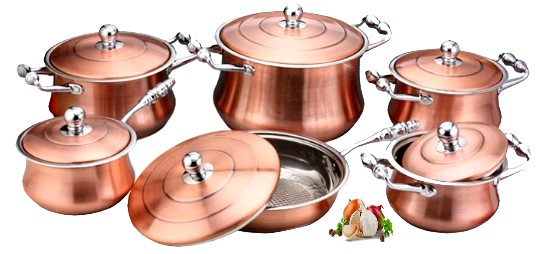 Buy Copper Pan Set