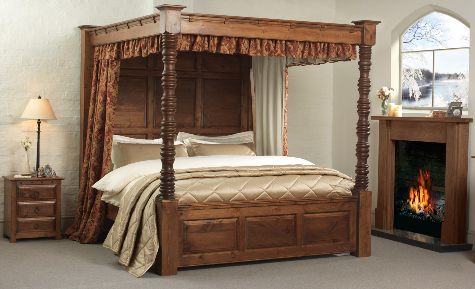 Buy Canopy Bed Australia