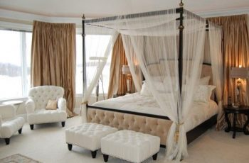 buy canopy bed curtains
